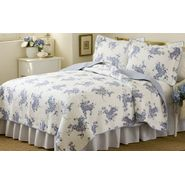 American Traditions Melissa Blue King Quilt with 2 shams at Kmart.com