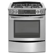 "Jenn-Air 30"" Slide-In Gas Range w/ Convection - Stainless Steel at Sears.com"