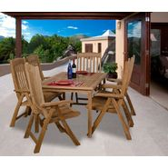 Amazonia Monaco 7-pc Teak Dining Set at Kmart.com
