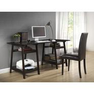 Baxton Mott Dark Brown Wood Modern Desk with Sawhorse Legs (Large) at Kmart.com