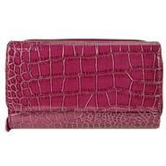 Mundi Womens Cactus Croco Wallet Flap Top Fuschia at Sears.com