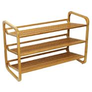 Oceanstar SR1231 3 Tier Bamboo Shoe Rack at Kmart.com