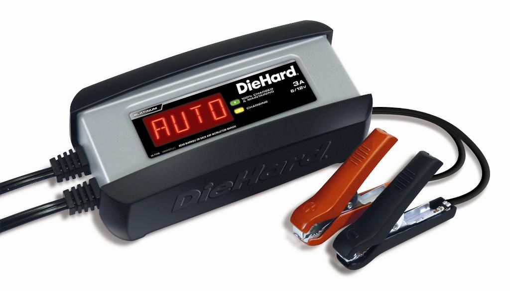 Platinum 6V/12V Battery Charger and Maintainer