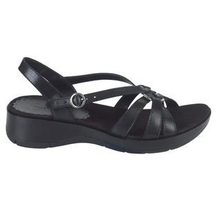 7eae03776b0 Wear Ever Women s Karina Leather Sandal - Black - Clothing