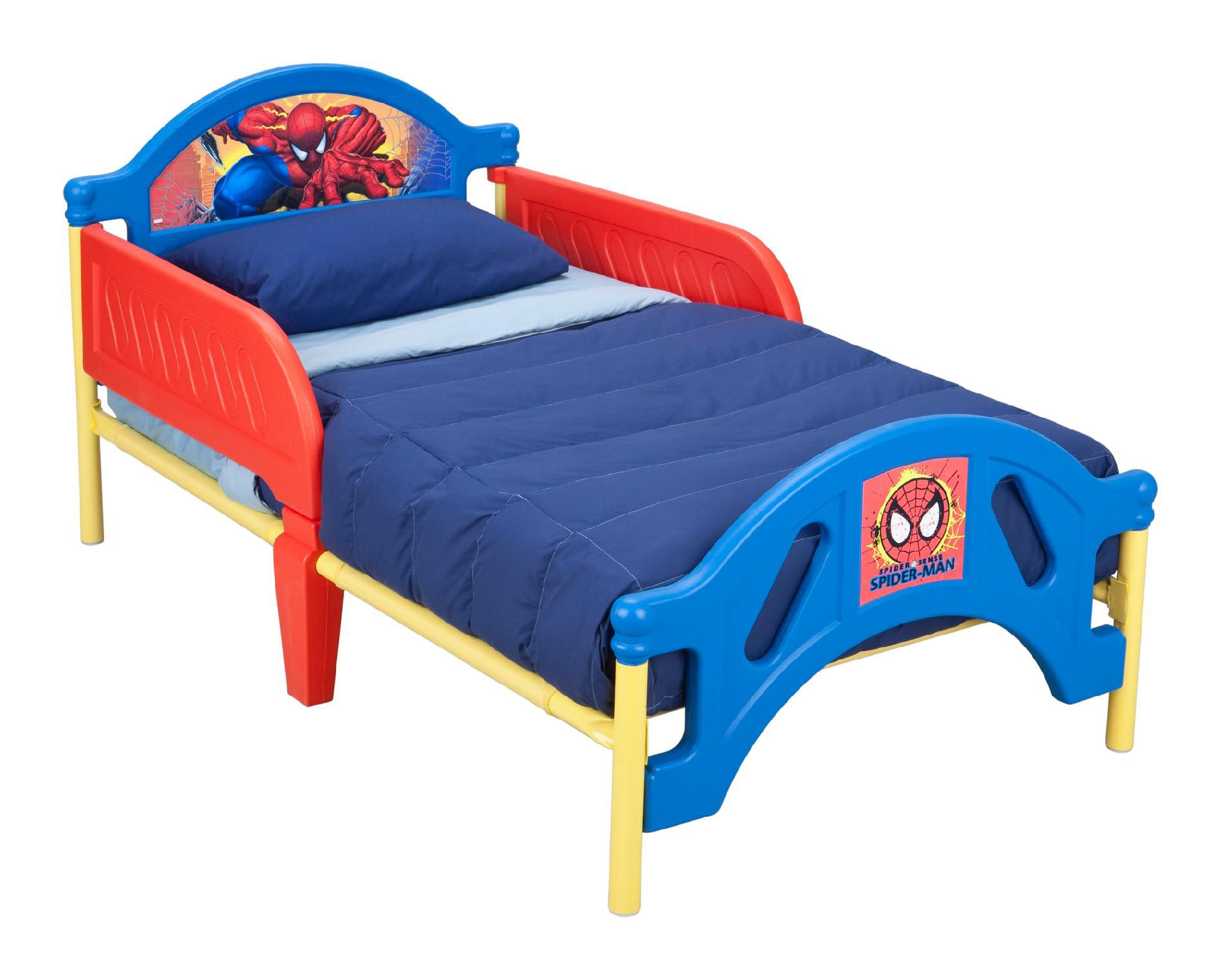 Delta Childrens  Spiderman Toddler Bed