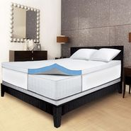 "Serta 2.5"" Gel Memory Foam Mattress Topper at Kmart.com"