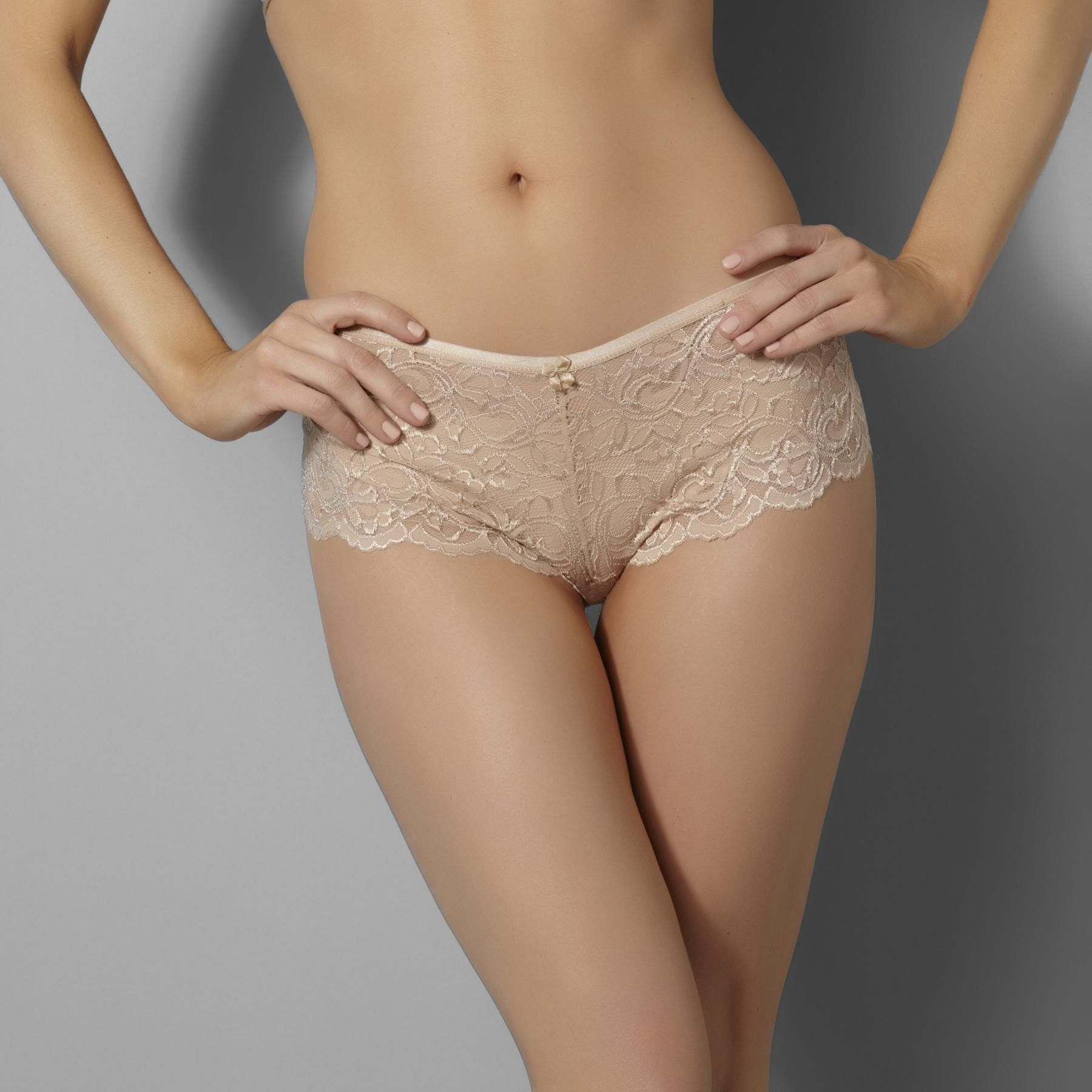 Jaclyn Smith Women's Lace Boy Short Panties at Kmart.com