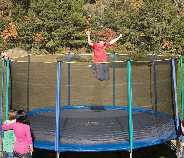 Pure Fun Safety Net Enclosure for 15 FT Trampoline 9115E