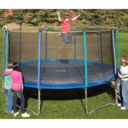 Pure Fun 15 FT Outdoor Trampoline & Enclosure Set 9015TS at Kmart.com