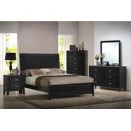 Baxton Studio Eaton Dark Brown(nearly black) Wood 5-Piece Queen Modern Bedroom Set at Sears.com