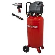 Craftsman 26 Gallon Air Compressor with Impact Wrench and Ratchet at Sears.com