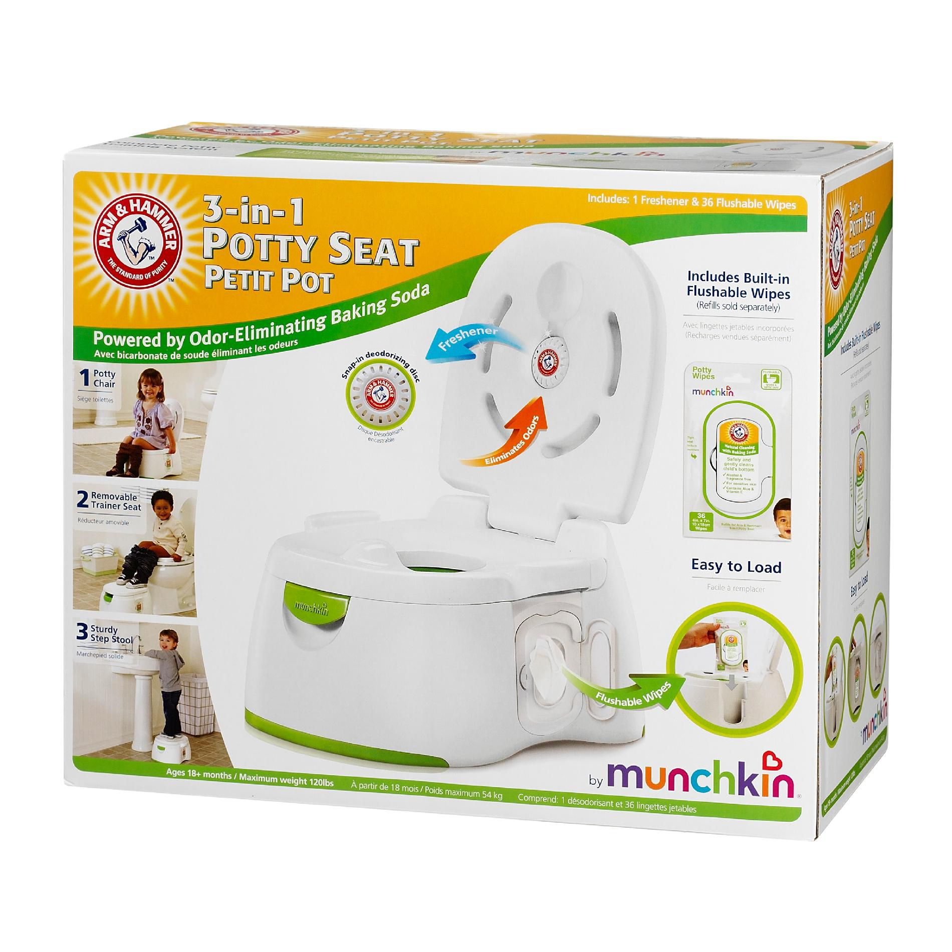 ARM HAMMER 3-IN-1 POTTY SEAT