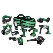 Hitachi KC18DX9L 18V Lithium Ion 9-Tool Combo Kit (3.0Ah) at Sears.com