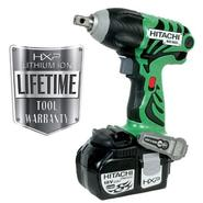 Hitachi WR18DL 18V HXP Lithium Ion Cordless Impact Wrench at Kmart.com