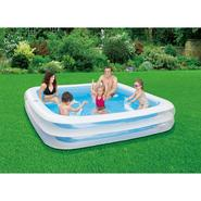 "ClearWater Deluxe Square Family Pool 90""x 90""x 18"" at Kmart.com"