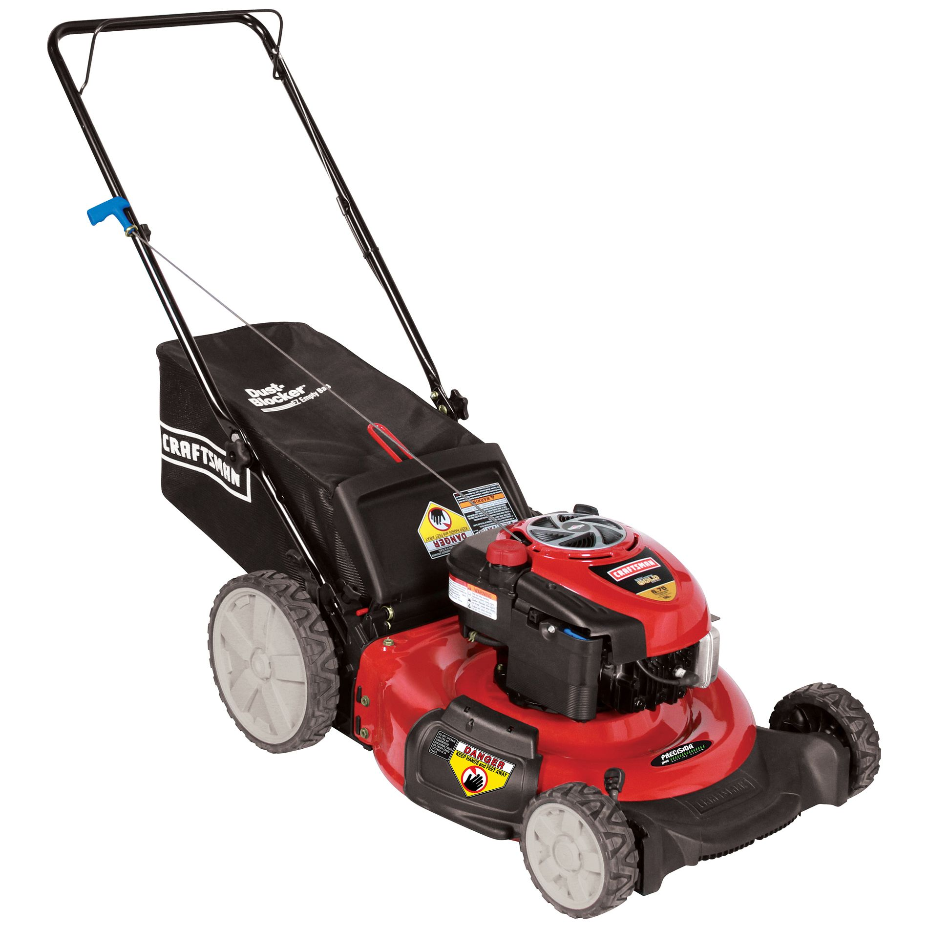 Craftsman 190cc* Briggs & Stratton Engine, High-Wheel Rear Bag Push Mower