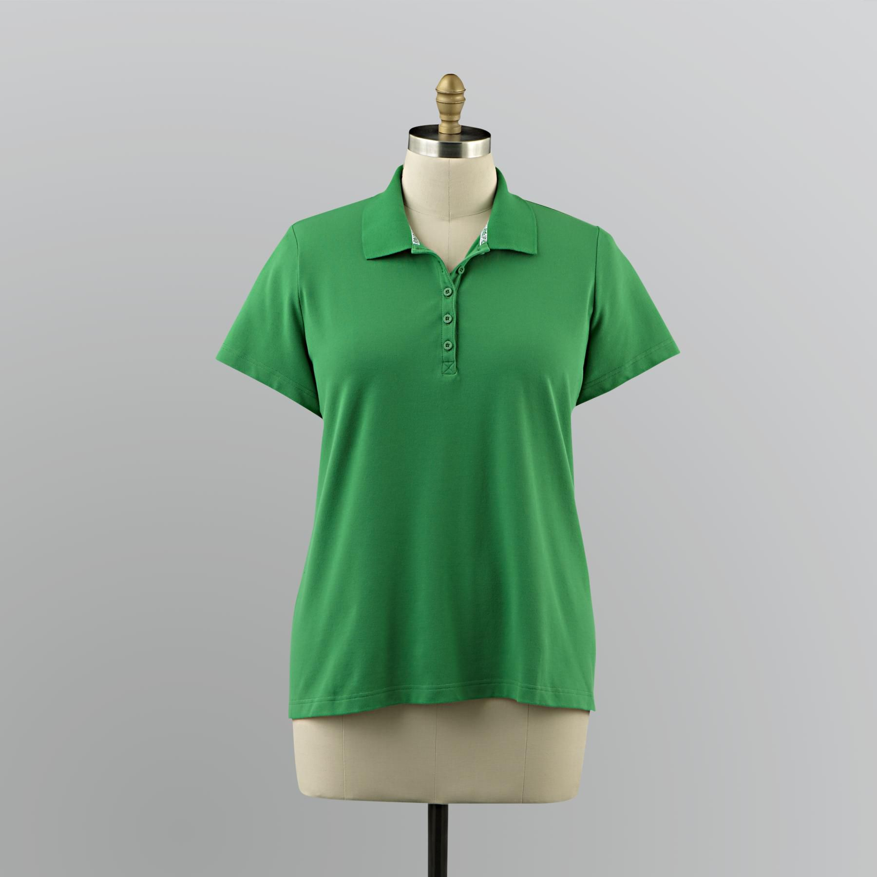 Women's Plus Polo Shirt