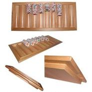 Trademark Games Oak Black Jack Table Tray - Holds 500 Chips at Kmart.com