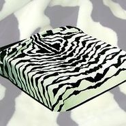 Trademark Global Acrylic Mink 275 Zebra Skin Blanket at Kmart.com