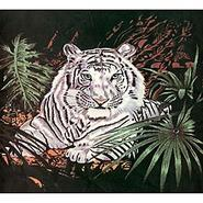 Trademark Global Acrylic Mink White Tiger Blanket at Kmart.com