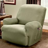 Sure Fit STRETCH STRIPE 1PC RECLINER at Sears.com