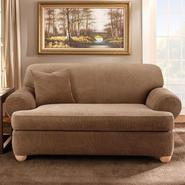 Sure Fit STRETCH STRIPE 2PC T SOFA SLIPCOVER at Sears.com