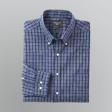 Dockers Men's Fitted Plaid Dress Shirt at mygofer.com