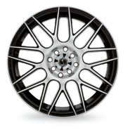 SSC Performance Style 40 17X7 (4-100mm/4.50) Black at Sears.com