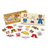Melissa & Doug Wooden Bear Family Dress-Up Puzzle at Kmart.com