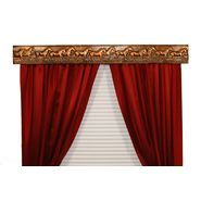 BCL Drapery Hardware, Curtain Rod Valance, Wild Horses on Handcrafted Solid Steel Frame, Antique Gold Finish, 40-Inch at Kmart.com