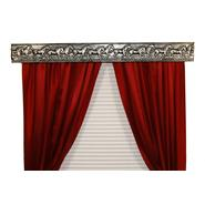 BCL Drapery Hardware, Curtain Rod Valance, Wild Horses on Handcrafted Solid Steel Frame, Antique Silver Finish, 54-Inch at Sears.com