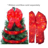 Starlite Creations LED Christmas Décor Tree Topper Bow Lights, 36 Lights, Red at Kmart.com