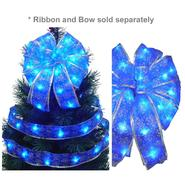 Starlite Creations LED Christmas Décor Tree Topper Bow Lights, 36 Lights, Blue at Kmart.com