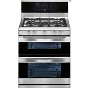 "Kenmore Elite 30"" Double-Oven Freestanding Gas Range - Stainless Steel at Sears.com"