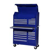 "Craftsman 42"" 20-Drawer Ball Bearing Slides Wall Tower Combo Blue at Sears.com"