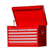 "Craftsman 27"" 7-Drawer Ball Bearing Slides Top Chest Red at Sears.com"