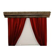 BCL Drapery Hardware, Curtain Rod Cornice, Marion Custom Moulding, Verona Silver Finish, 68-Inch at Kmart.com