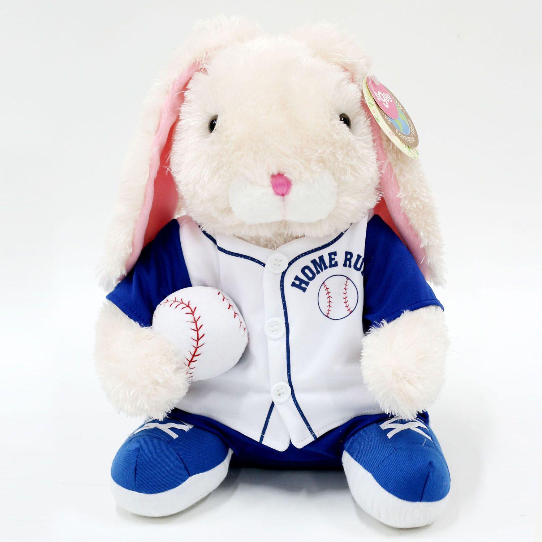 Easter Jubilee Soft Sports Pals Plush - Baseball White Bunny PartNumber: 009W028623911015P KsnValue: 009W028623911015 MfgPartNumber: E999124BB12
