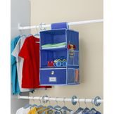 Essential Home EH 3 SHELF HANGING OBLUE/LT BLUE at mygofer.com