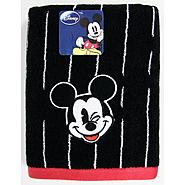Disney Embroidered Bath Towel Mickey Tuxedo at Kmart.com