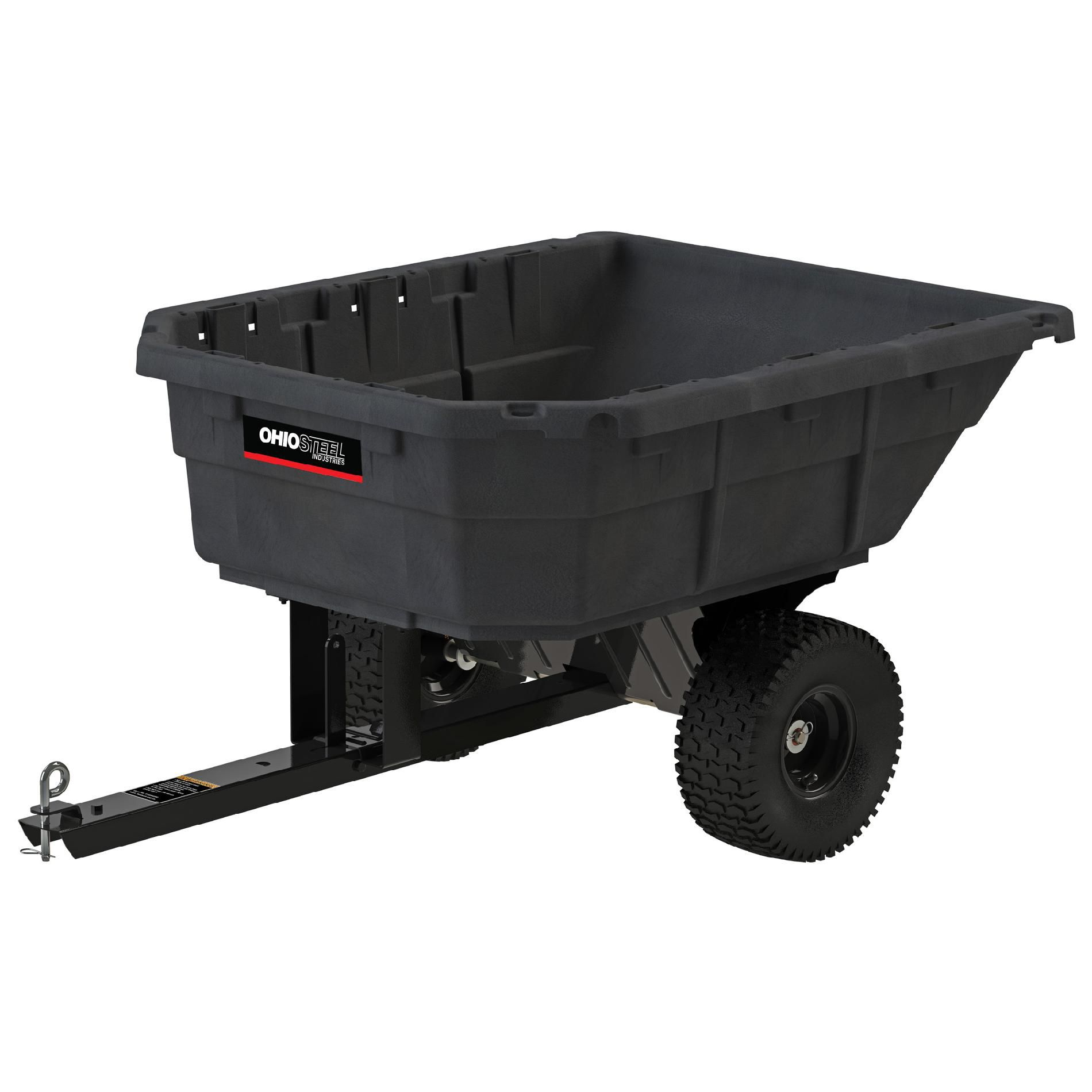 Ohio Steel  12.5 Cu. Ft. Poly Dump Cart