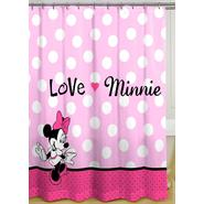 Disney Minnie Mouse Shower Curtain at Kmart.com
