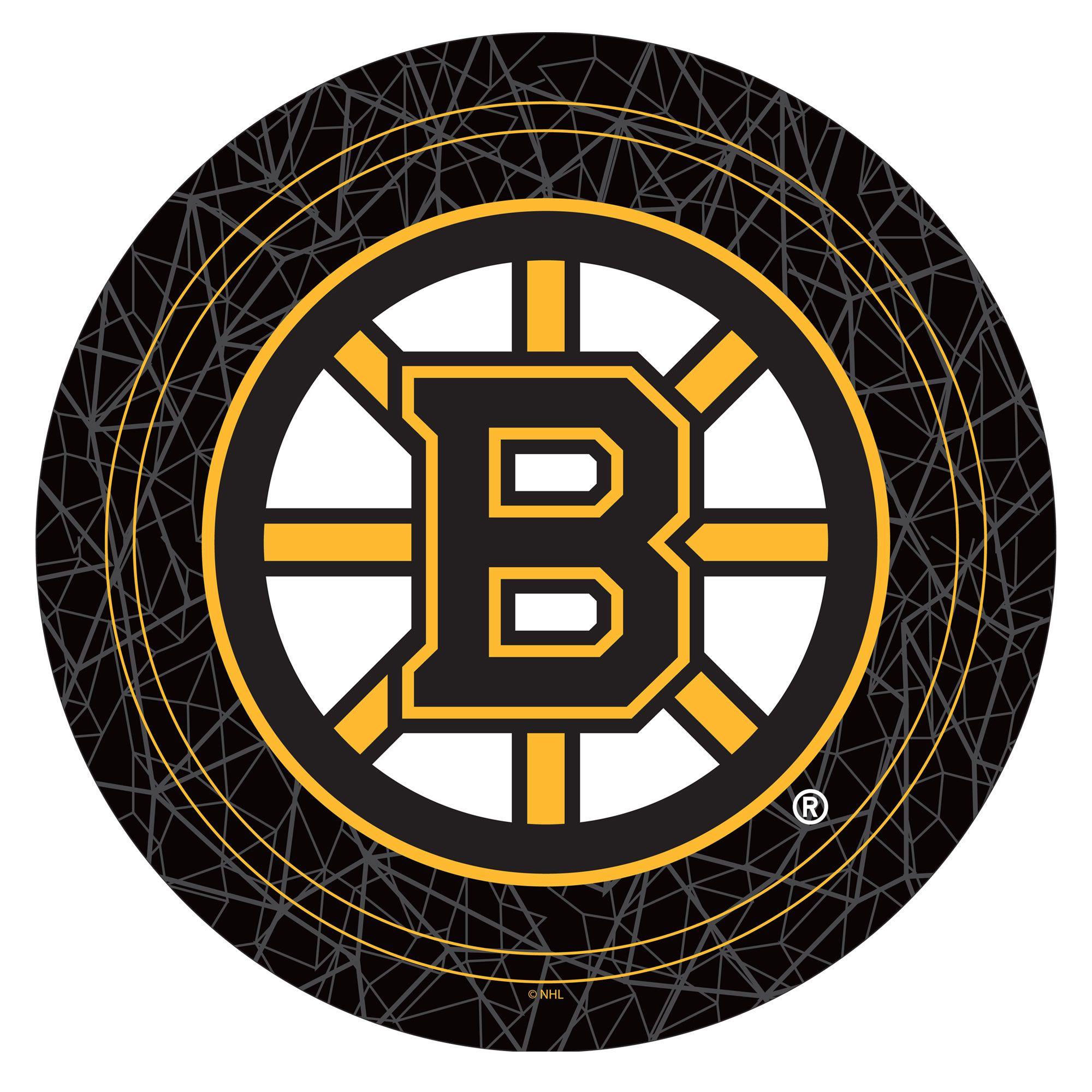 Boston Bruins Gameroom Combo - 2 Bar Stools and Table