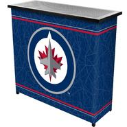 NHL Winnipeg Jets 2 Shelf Portable Bar w/ Case at Kmart.com