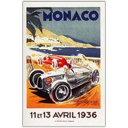 "Trademark Fine Art 22x32 inches ""Monaco 13 Avril 1936"" at Kmart.com"