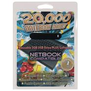 PC Treasures 20000 Notebook Games- 2GB USB flash drive - PC at Kmart.com
