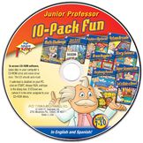 PC Treasures PC Treasures High Achievers: Jr Professor - 8 titles - English and Spanish - CD - PC at mygofer.com