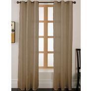 Essential Home Faux Silk Panel W/Grommets Taupe at Kmart.com