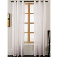 Essential Home Faux Silk Panel W/Grommets Off White at Kmart.com