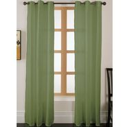 Essential Home Faux Silk Panel W/Grommets Sage at Kmart.com